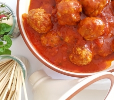 chicken and chorizo meatballs
